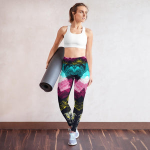 Yoga Leggings, Morati World, Morati Chakra Sodalite Yoga Leggings - Morati