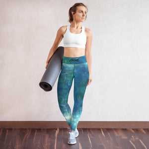 Yoga Leggings, Morati World, Morati Galaxy 00 Yoga Leggings - Morati