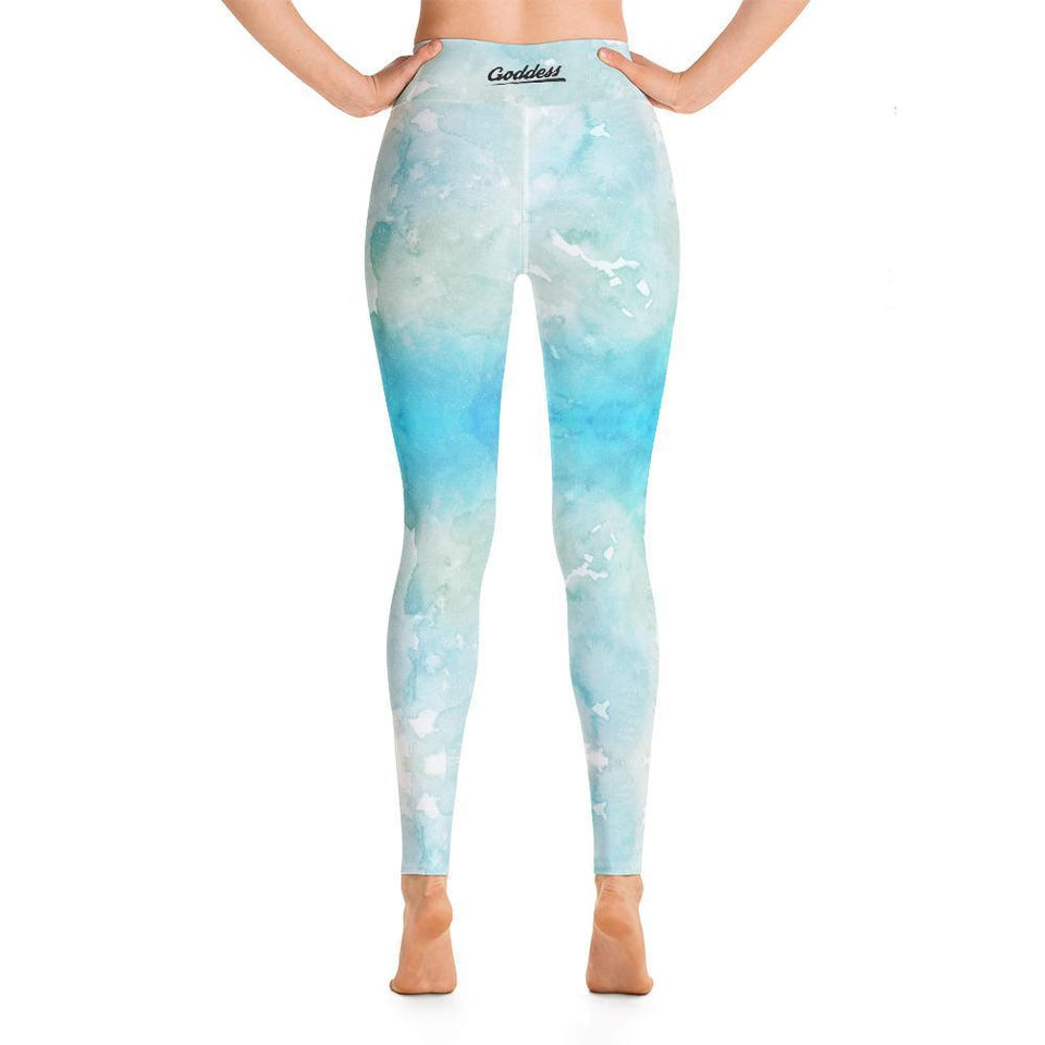 Yoga Leggings, Morati World, Morati Galaxy 01 Yoga Leggings - Morati