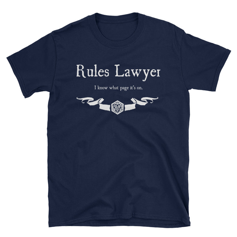 Rules Lawyer T-Shirt