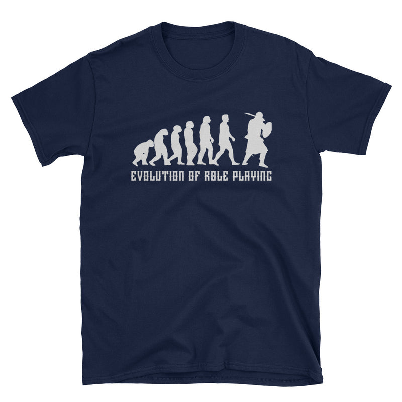 Evolution Of Role Playing T-Shirt