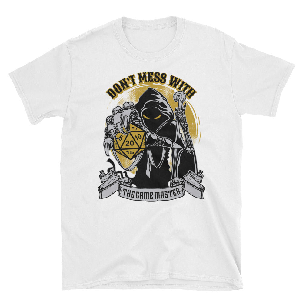 Don't Mess With The Game Master  T-Shirt
