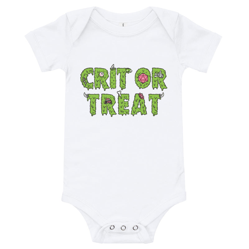 Crit or Treat Baby Body Suit