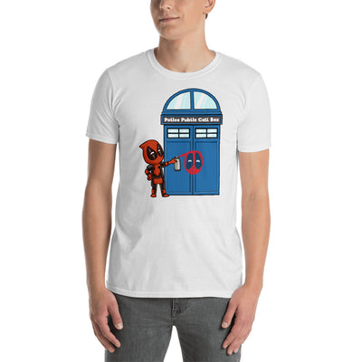 Defacing the Phonebox T-Shirt