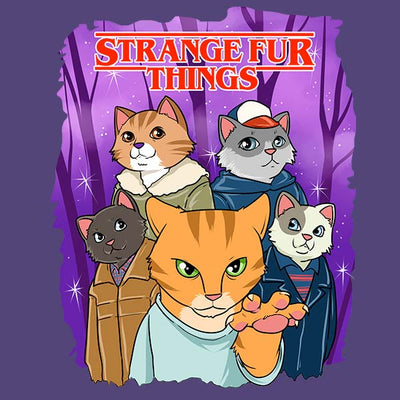 Strange Fur Things T-Shirt