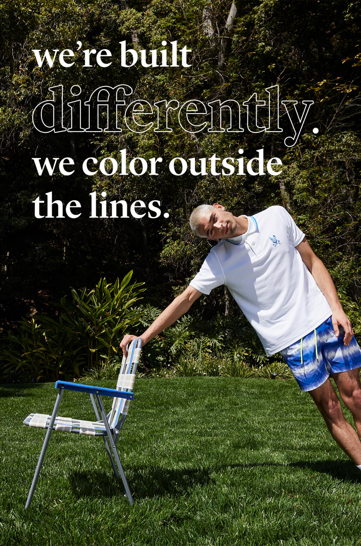 we're built differently. we color outside the lines