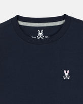 BOYS CREW NECK TEE - B0U014CRPC - 410 NAVY