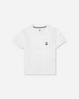BOYS CREW NECK TEE - B0U014CRPC - 100 WHITE