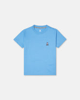 BOYS CLASSIC CREW NECK TEE - B0U014E1PC - CORNFLOWER (CFR)