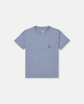 BOYS CLASSIC CREW NECK TEE - B0U014E1PC - HEATHER BAHAMAS (HMS)