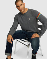 MENS LILESTONE SWEATER - B6E487G1WO - GREY