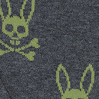 MENS ALL OVER BUNNY SOCK - B6F980E1PB - color_swatch