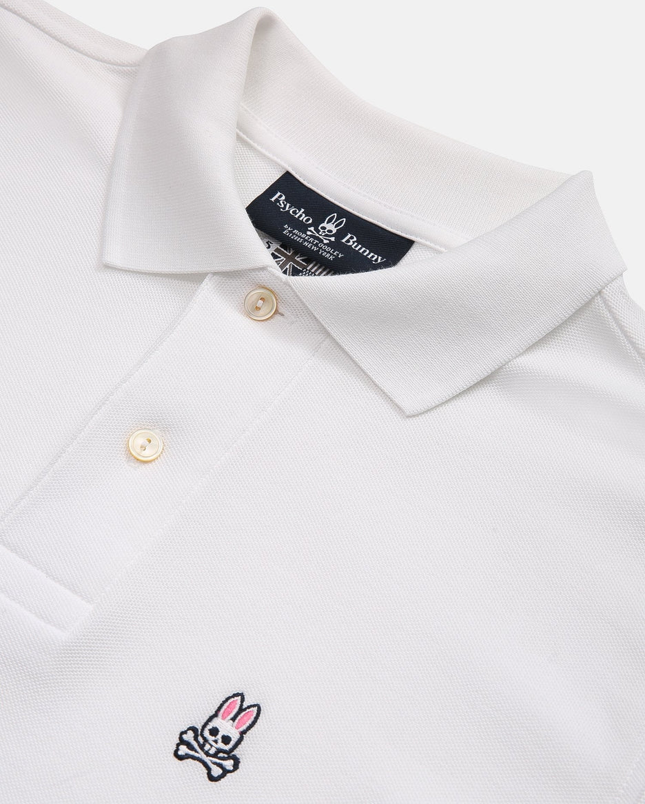 MEN'S BIG AND TALL - CLASSIC POLO - B9K001ARPC - WHITE