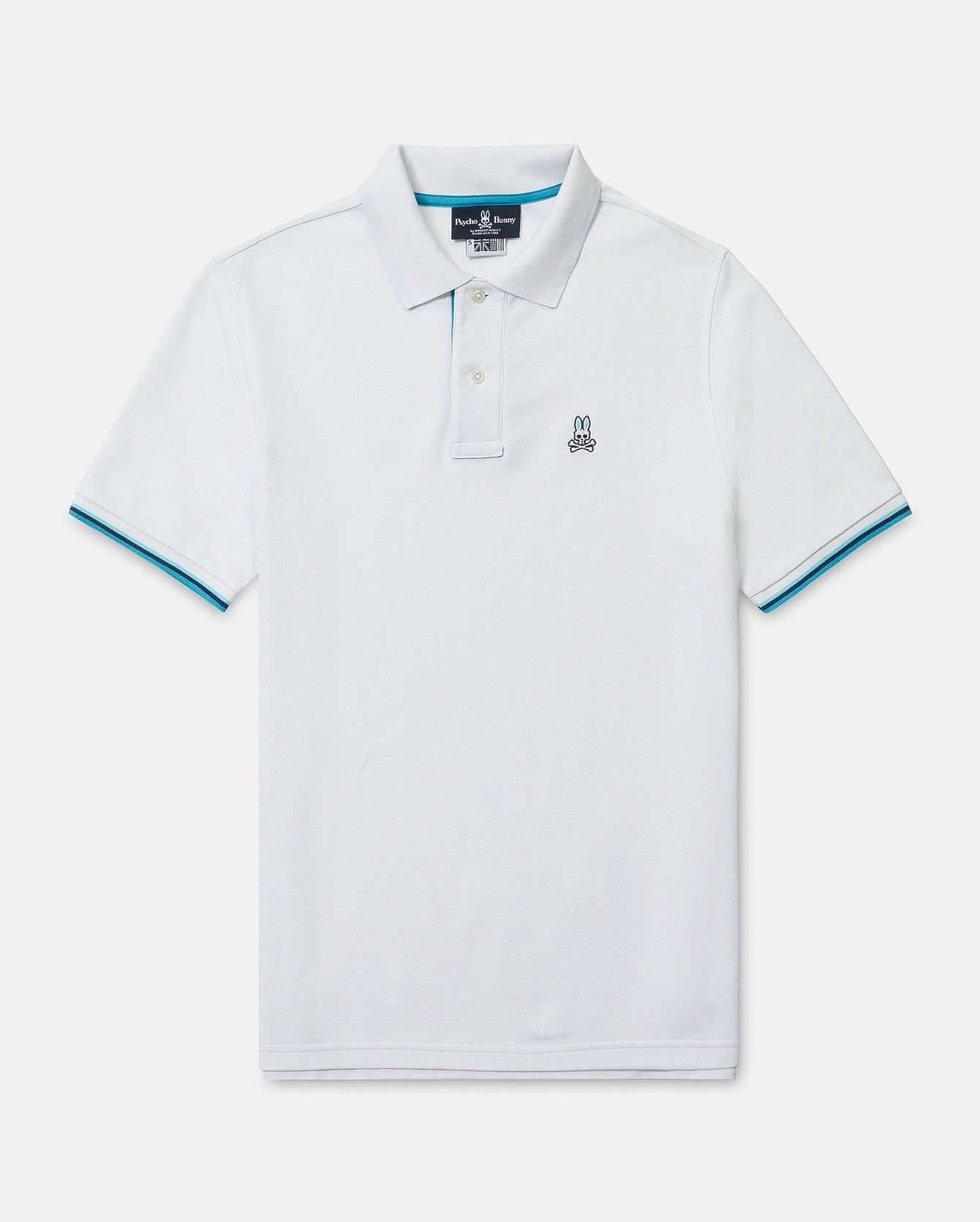 Mens Big And Tall St Barts Polo White Psycho Bunny