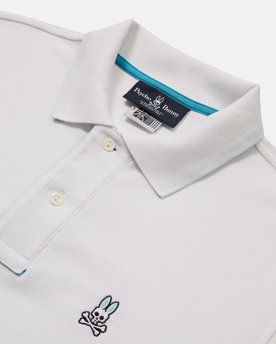 MENS BIG AND TALL ST BART'S POLO - B9K657C1PC - WHITE (WHT)