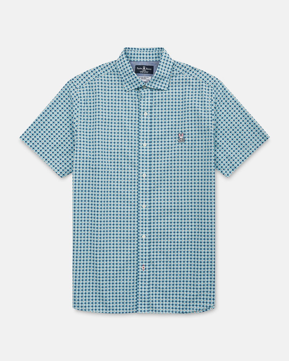 MENS LAXFORD SHORT SLEEVE SHIRT - B6Q311E1PC - BERMUDA (BMB)
