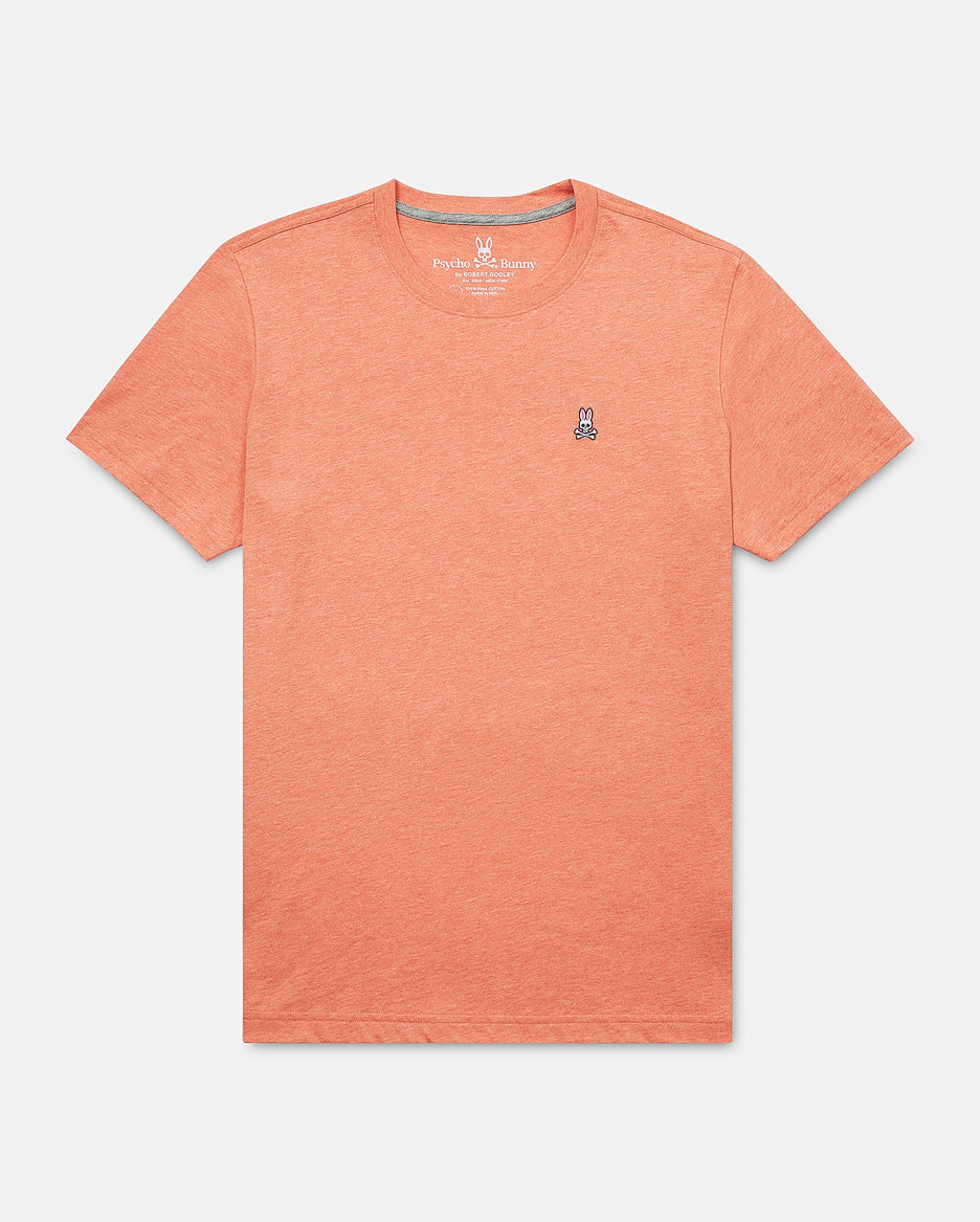 MENS CLASSIC CREW NECK TEE SHIRT - B6U014E1PC - HEATHER GINGERS (HGG)