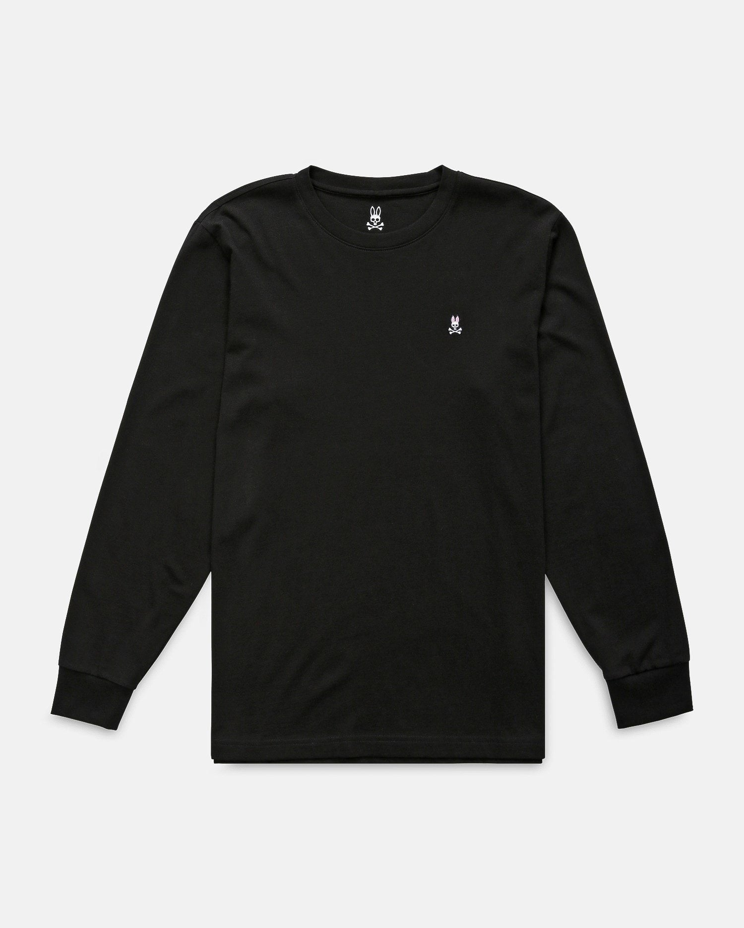 MENS L/S T-SHIRT - B6T422ARPC - BLACK (BLK)