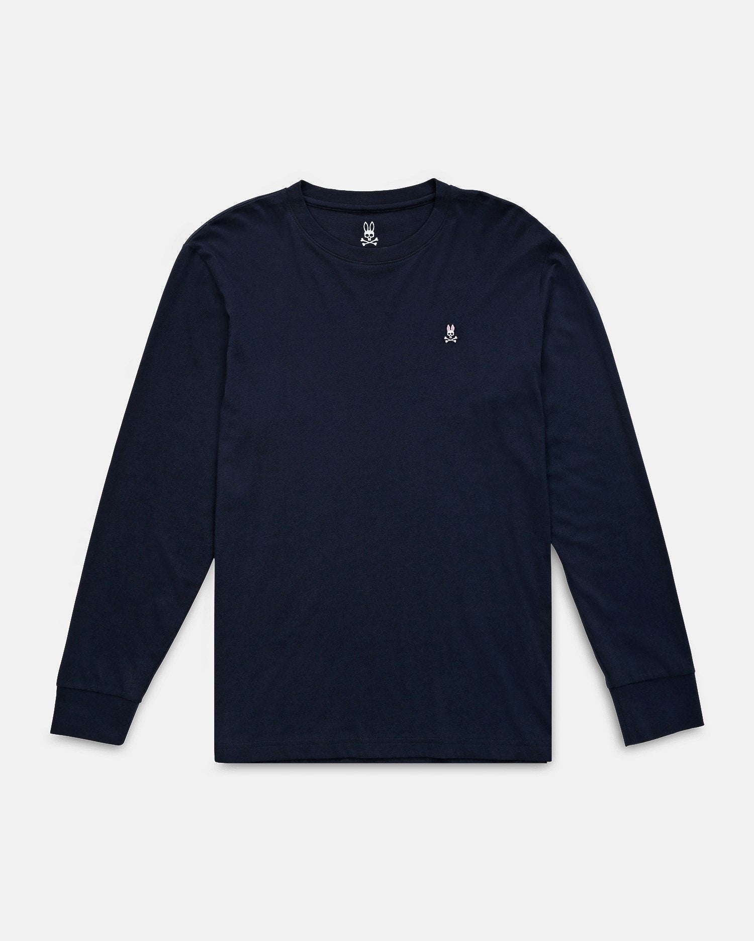 LONG SLEEVE CREW NECK TEE - B6T422ARPC - NAVY (NVY)