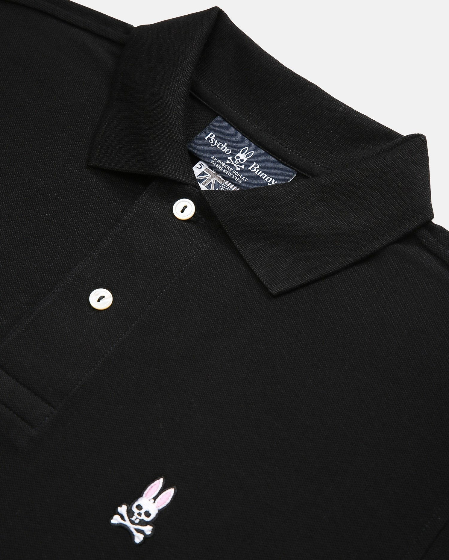 BIG AND TALL - CLASSIC POLO - B9K001ARPC - BLACK (BLK)
