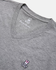 MEN'S BIG AND TALL - CLASSIC V NECK TEE - B9U100ARPC - HEATHER GREY