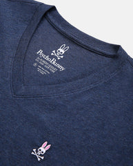 MEN'S BIG AND TALL - CLASSIC V NECK TEE - B9U100ARPC - HEATHER NAVY
