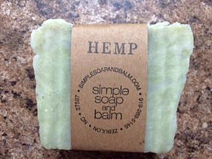 Hemp Natural Bar Soap
