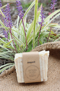 Almond Natural Bar Soap