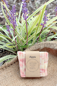 Apple Natural Bar Soap