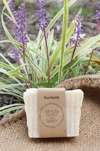 Gardenia Natural Bar Soap