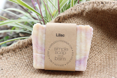 Lilac Natural Bar Soap