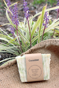 Cucumber Natural Bar Soap