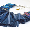 FLO Fringe Necklace - Blue
