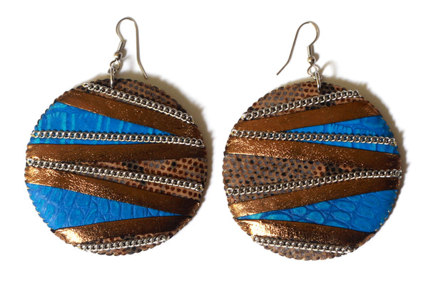 Amanitore Disc Earrings