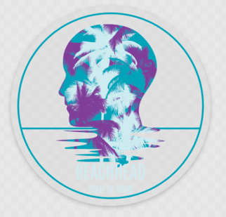 The Palms Decal