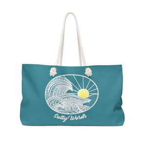 Salty Waves Weekender Bag