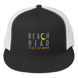 BHSOM Flat Bill Snapback Trucker Hat - 3 Color Options
