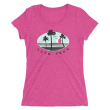 Live Free Ladies' Tri-Blend t-shirt