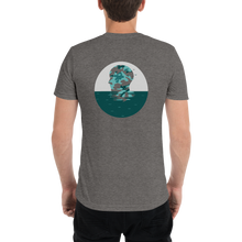 Teal Camo Tri-Blend Short Sleeve Tee