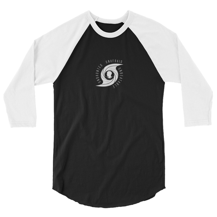 Eye of the Storm 3/4 sleeve raglan shirt