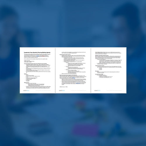 Leadership Team Quarterly Planning Meeting Agenda Template - AgencyDocs