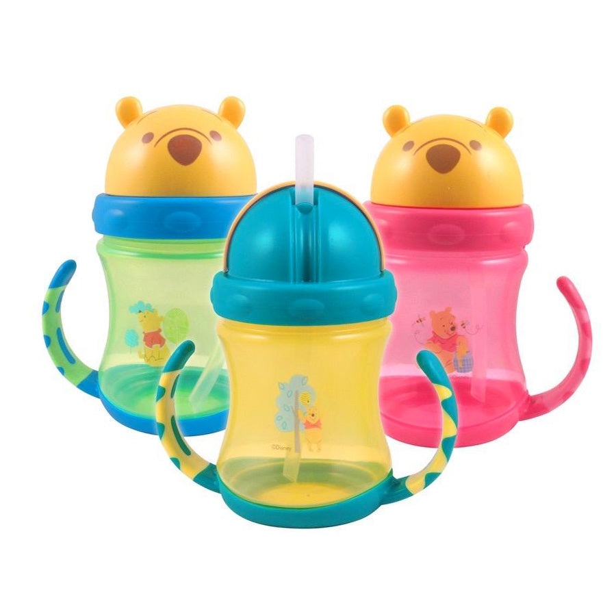 Pooh Sport Sipper WTP07075 - Botol Minum Anak/Training Cup/Sippy Cup