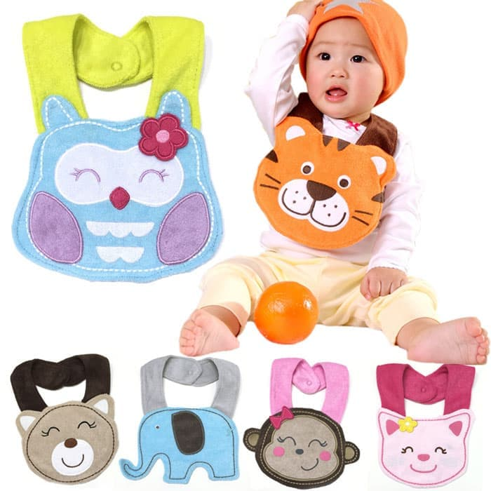Bib Animal Shape Boy