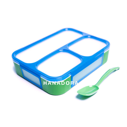 Yooyee Lunch Box Leak Proof 579 - TwoTone Hijau/Biru