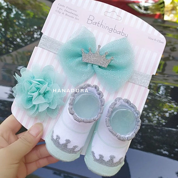 Catell Love Headband Clip & Bootie Set AC01 - G