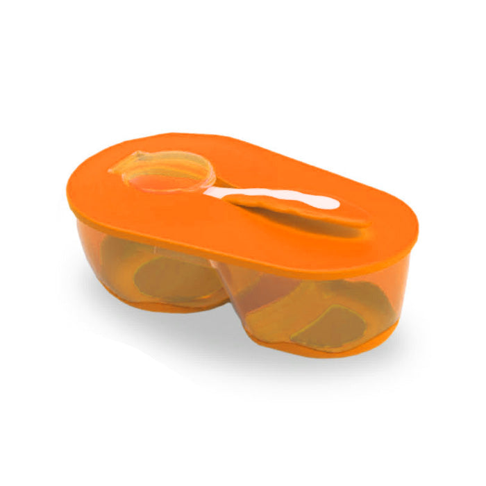 Baby Safe Divided Bowl with Spoon AP010