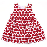 Ashley Dress Cardigan Set - Heart