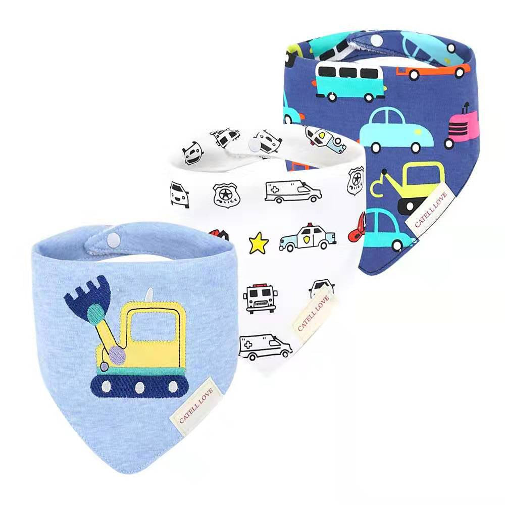 Catell Love Bib Scarf Set 3pcs BB03 - E