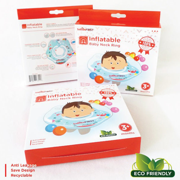 Babies First Inflatable Baby Neck Ring