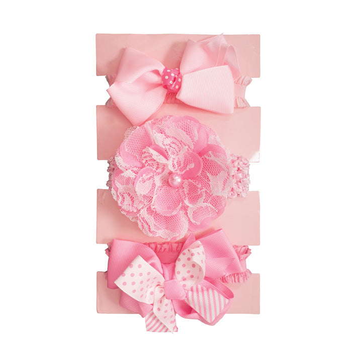 Babies First Headband Set 3pcs BF104 - C